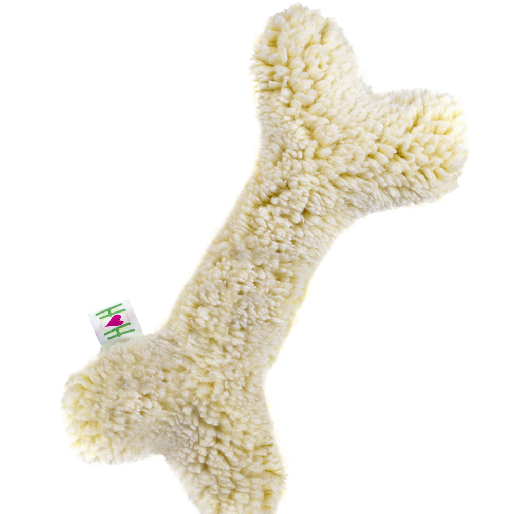 HuggleFleece® 2' Bone with Invincible Squeaker