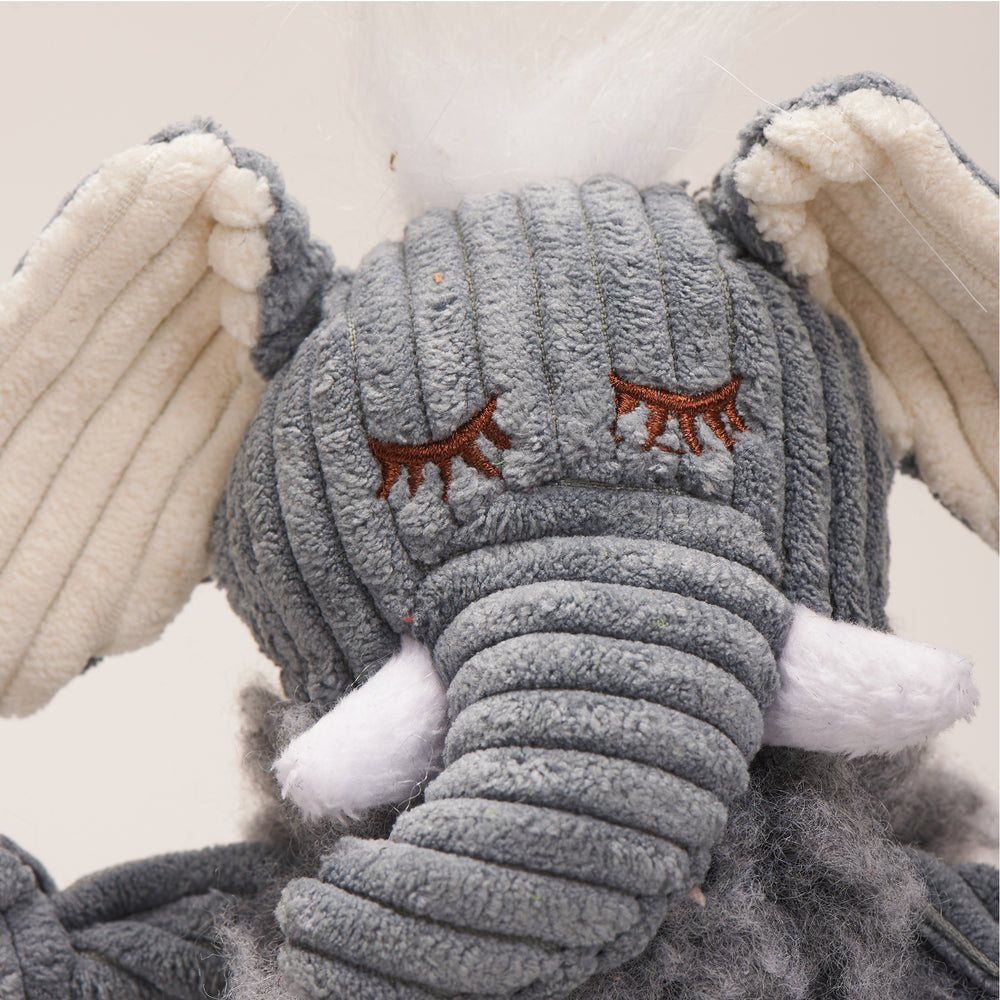 HuggleFleece™ FlufferKnottie™ Ellamae the Elephant