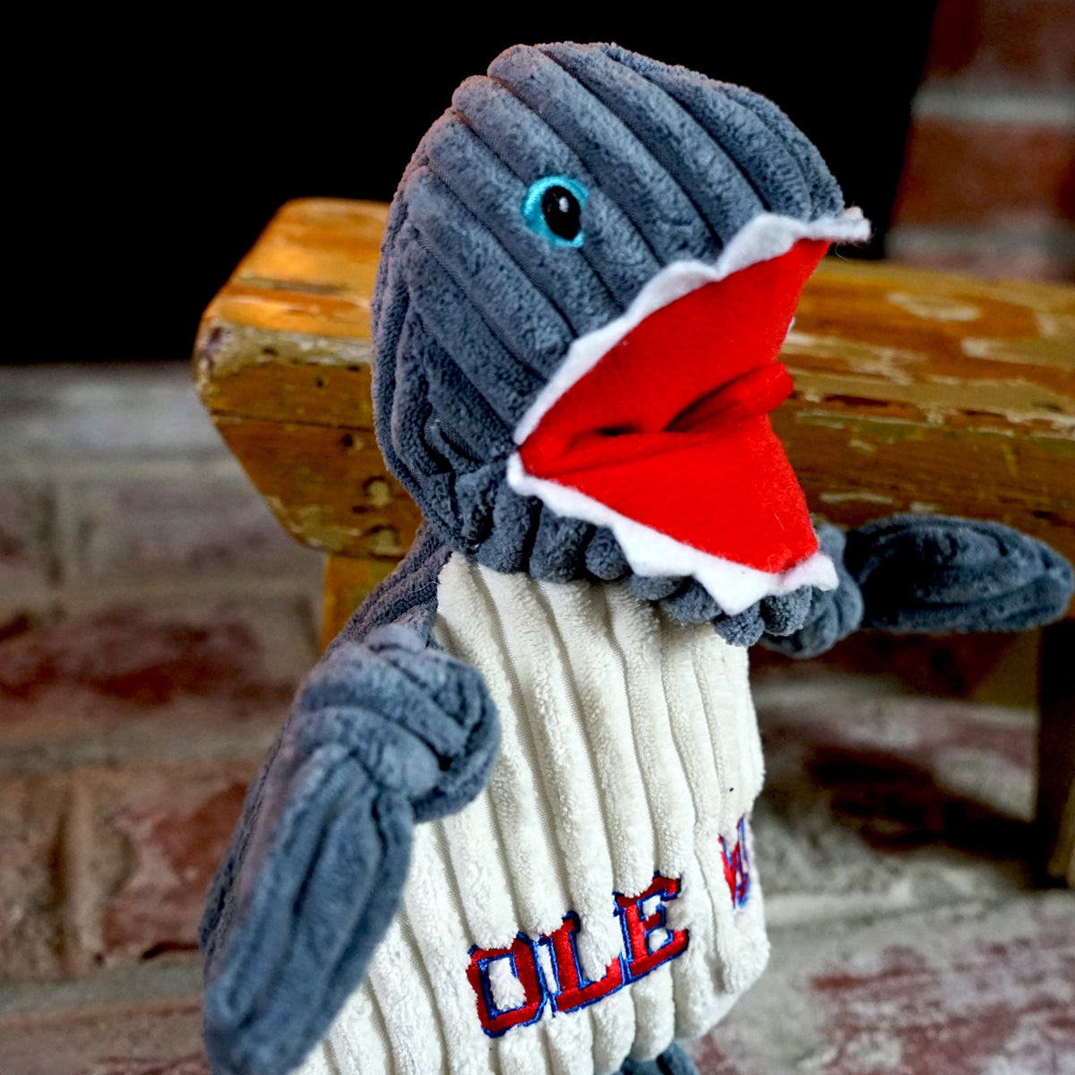 Ole Miss Tony Land Shark Knottie™