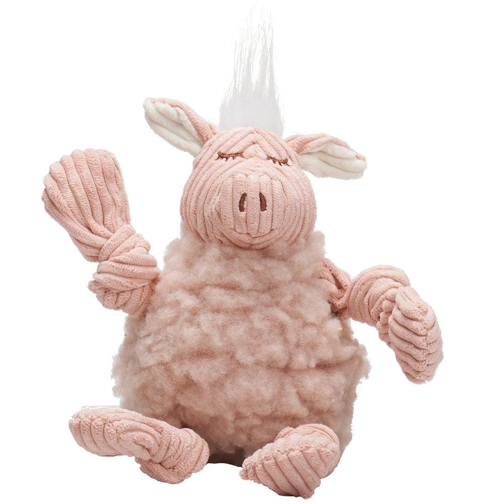 HuggleFleece™ FlufferKnottie™ Penelope the Pig