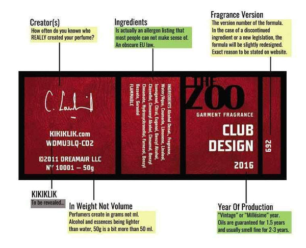 Club Design-eau de parfum-THE ZOO-50 ml-Perfume Lounge