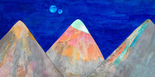 "Load image into Gallery viewer, ""Three mountains"" giclée print"