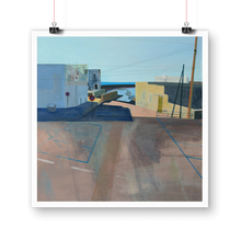"Load image into Gallery viewer, ""urban landscape 118"" giclée print"