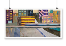 "Load image into Gallery viewer, ""The city"" giclée print"