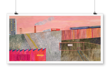 "Load image into Gallery viewer, ""Outskirts"" giclée print"
