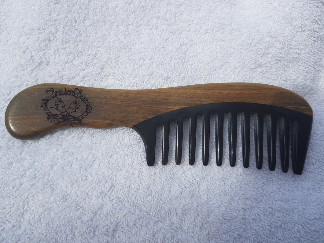 Brothers Bear Large Tooth Grizzly Beard Comb