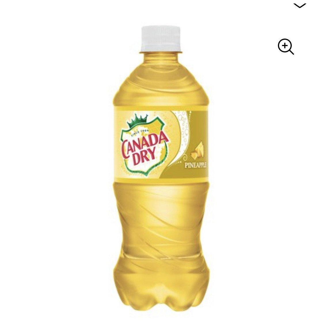 Canada Dry Pineapple Soda-Exotic Pop