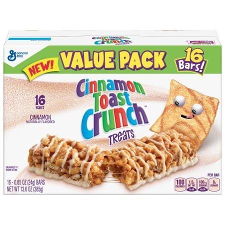 Cinnamon Toast Crunch Treats-Exotic Pop