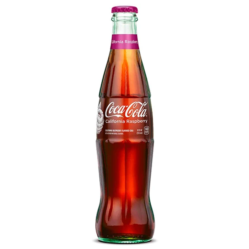 Coca Cola California Raspberry-Exotic Pop