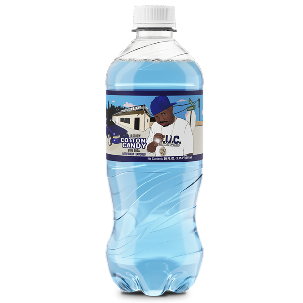 Exotic Pop DJ Screw Cotton Candy Blue Soda-Exotic Pop