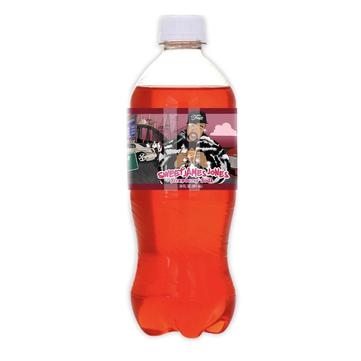 Exotic Pop Sweet James Jones Strawberry Soda-Exotic Pop