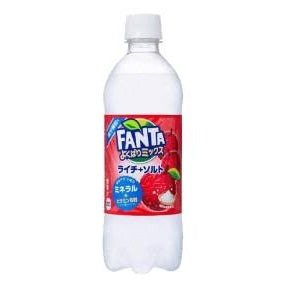 Fanta Salty Lychee (Japan)-Exotic Pop