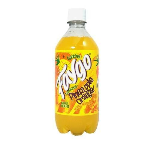 Faygo Pineapple Orange-Exotic Pop