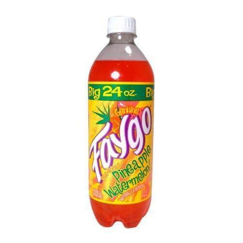 Faygo Pineapple Watermelon-Exotic Pop