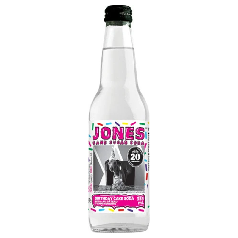 Jones Birthday Cake Soda-Exotic Pop