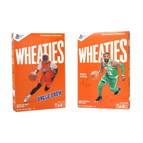 "Kyrie Irving ""Uncle Drew"" WHEATIES-Exotic Pop"