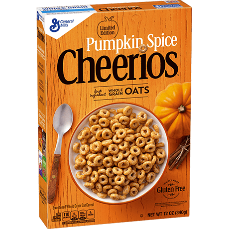 Pumpkin Spice Cheerios-Exotic Pop