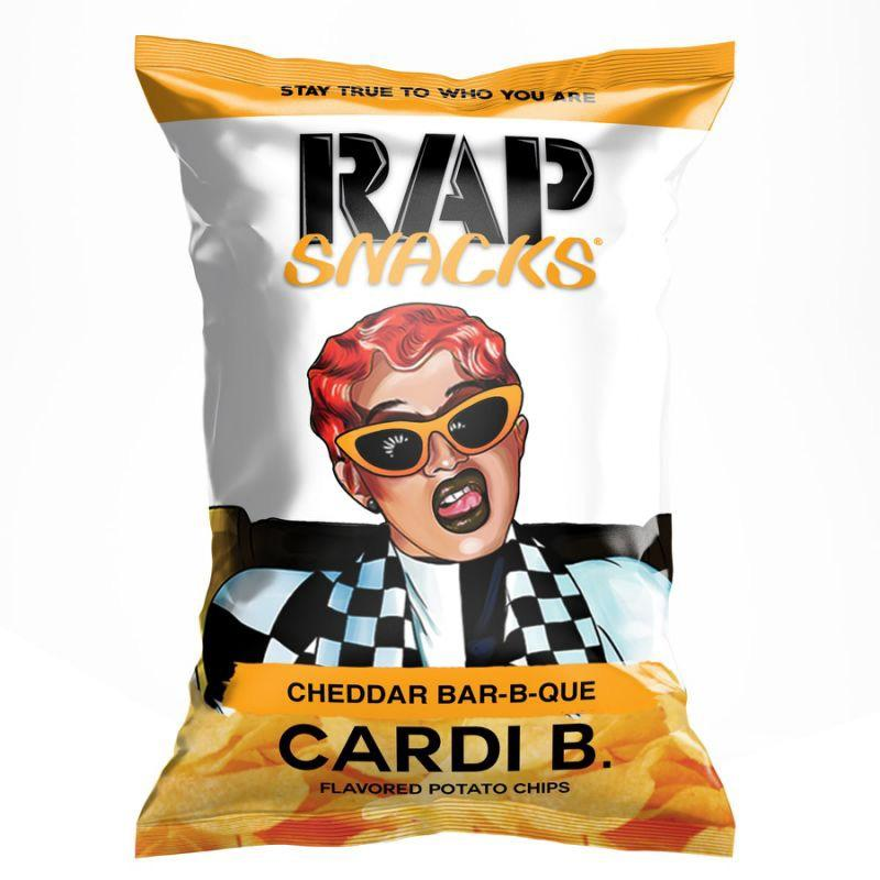 Rap Snacks Cardi B Cheddar Bar-b-que-Exotic Pop