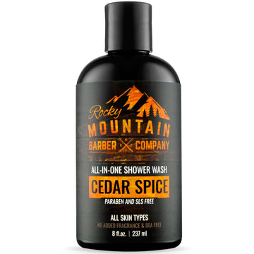 Rocky Mountain Barber Company Cedar Spice Shower Wash