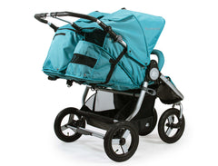 Bumbleride Indie Twin Double Stroller 2018 2019 Tourmaline Wave Rear View