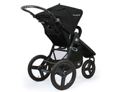 Bumbleride Speed Jogging Stroller Matte Black Rear View