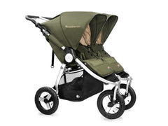 2017 Bumbleride Indie Twin Double Stroller - Camp Green