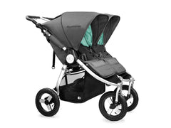 2017 Bumbleride Indie Twin Double Stroller - Dawn Grey
