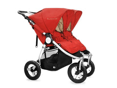 2017 Bumbleride Indie Twin Double Stroller - Red Sand
