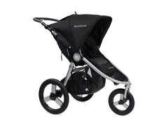 Bumbleride Speed Jogging Stroller 2017 - Silver Black