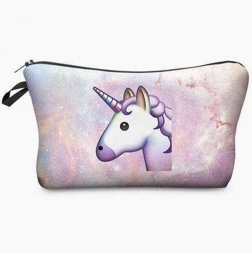 Unicorn 3D Makeup Bag - luwaluwashop