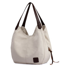 Hobo Canvas Handbag - luwaluwashop