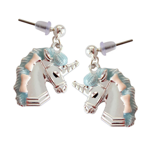Pastel Delicate Unicorn Earrings - luwaluwashop
