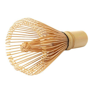 Japanese Bamboo Green Tea Powder Brush - luwaluwashop