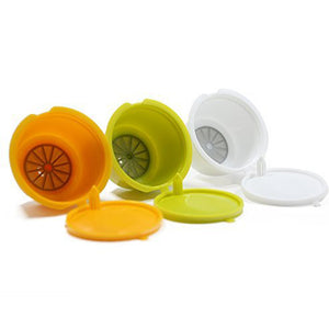 Recaps 3pcs Refillable Dolce Gusto Coffee Capsules - luwaluwashop
