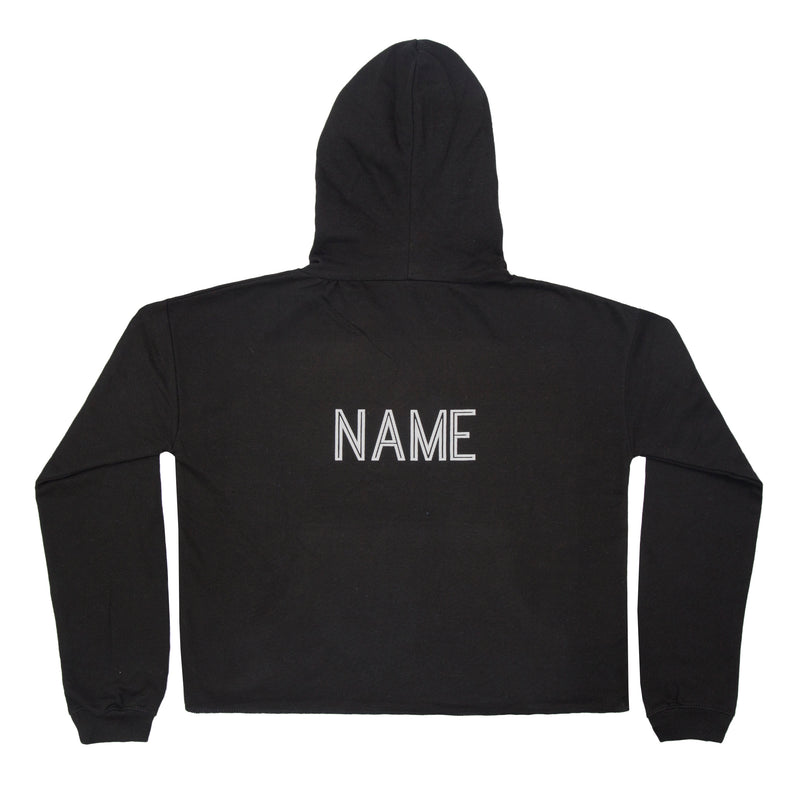 Dance Wright Cropped Hoodie