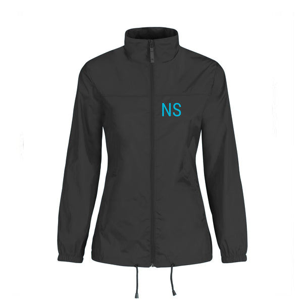 Rhythm Nation Dance & Fitness Rain Jacket