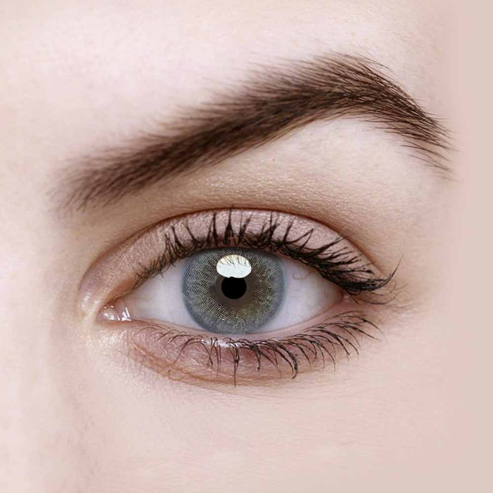 Vandora Natural Iris Grey Colored Contact Lenses