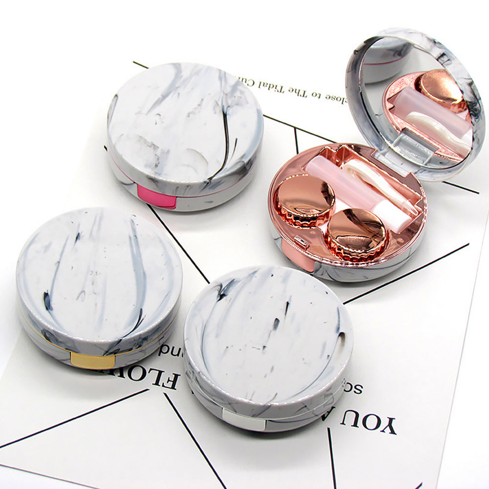 New Marble Contact Lens Case