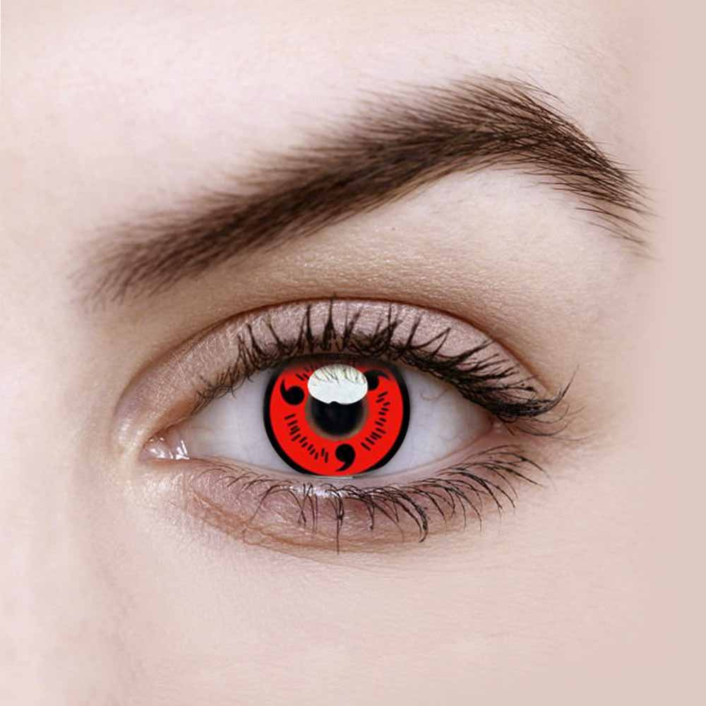 Vandora Sharingan Magatama Colored Contact Lenses