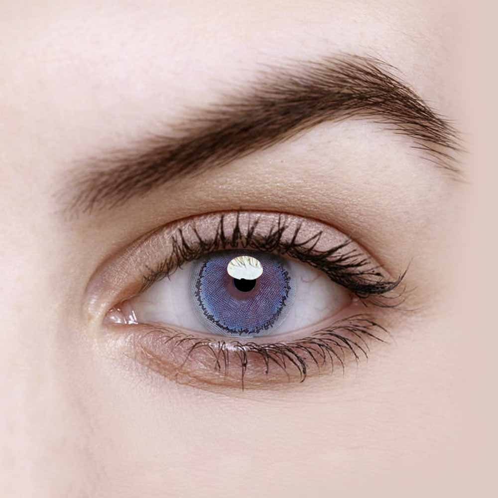 Vandora Enlarge Hancon Blue Colored Contact Lenses