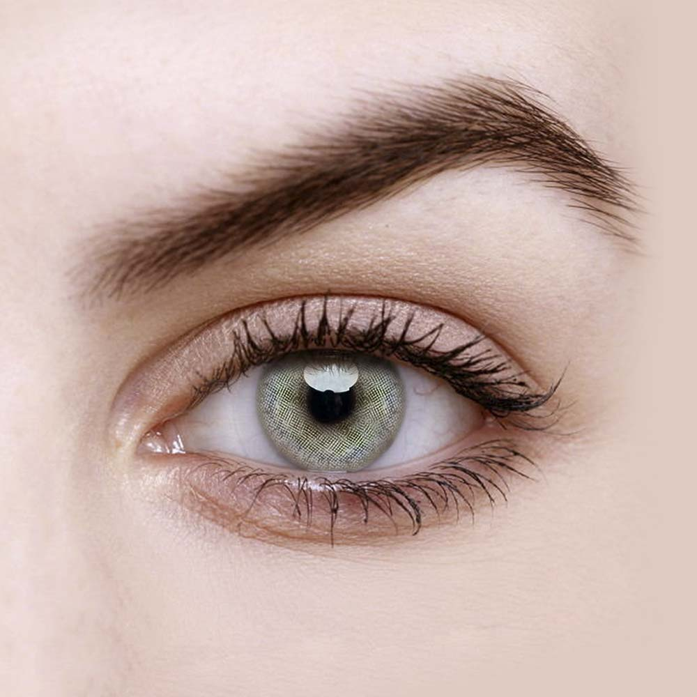 Vandora Natura Huda Pearl Grey Colored Contact Lenses