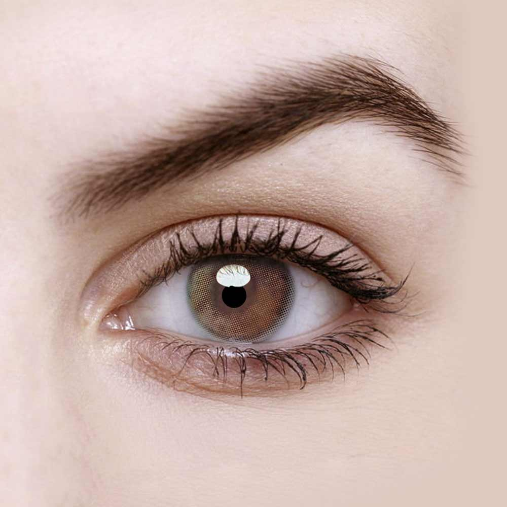Vandora Dream Mint Brown Colored Contact Lenses
