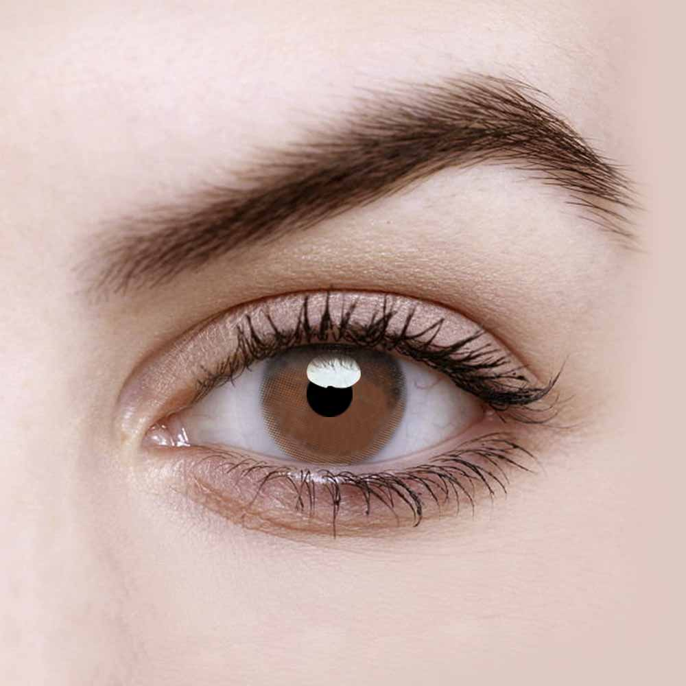 Vandora Party Fragrant Honey Chocolate Colored Contact Lenses