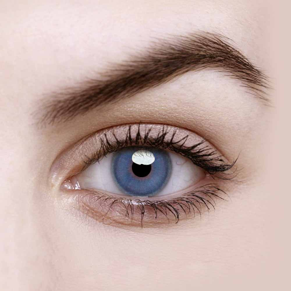 Vandora Party Fragrant Honey Blue Colored Contact Lenses