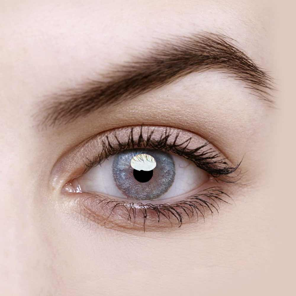 Vandora Enlarge Mirage Grey Colored Contact Lenses
