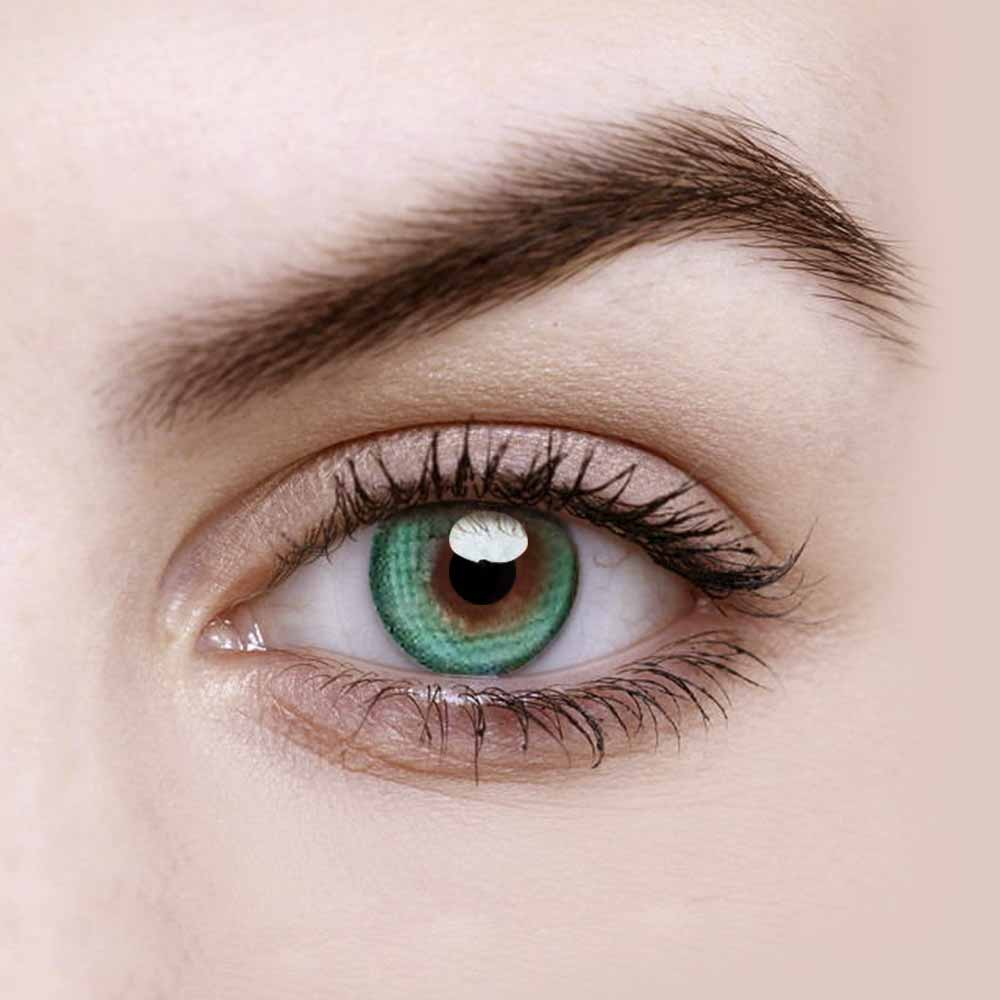 Vandora Enlarge Dreamcon Green Colored Contact Lenses
