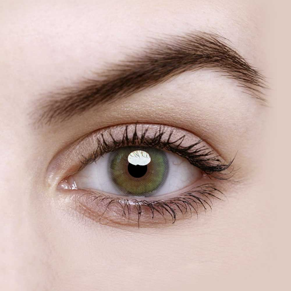 Vandora Dream Mint Green Colored Contact Lenses