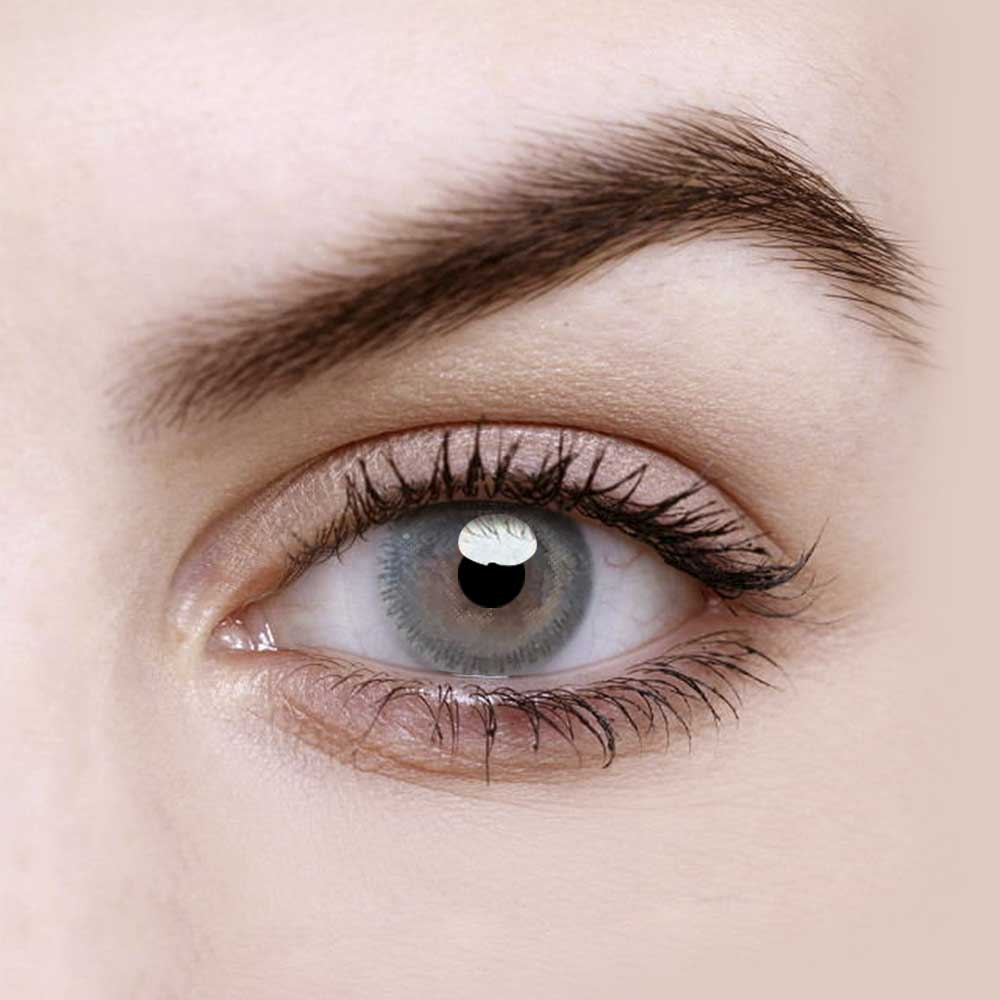 Vandora Enlarge Simi Grey Colored Contact Lenses