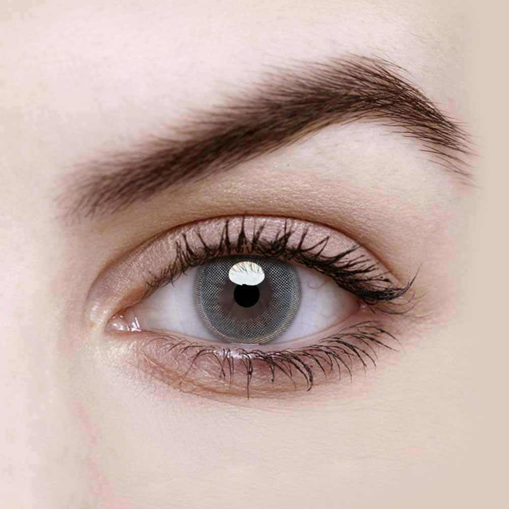 Vandora Jelly Light Grey Colored Contact Lenses