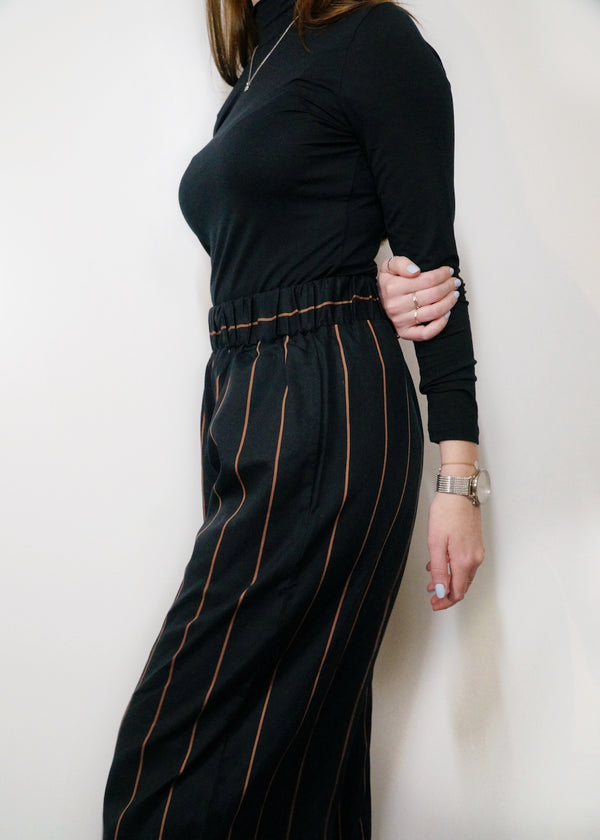 Adrienne-Sue trousers | Black-tan